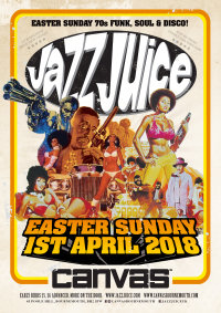 Jazz Juice 2018 - Canvas - EASTER Sunday 1st April 2018 image