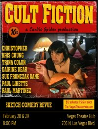 CULT FICTION - Sketch Comedy Revue by Cardio Spider image
