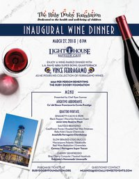 Ruby Dooby Foundation Wine Dinner image