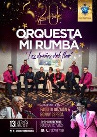 Orquesta Mi Rumba ( 20 Aniv. ) Paquito Guzman & Bonny Cepeda image