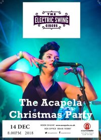 The Acapela Christmas Party feat. THE ELECTRIC SWING CIRCUS image