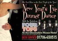 New Year's Eve Dinner Dance with the fabulous Four Tops image