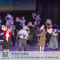 LMT Multimedia presents EXTRA! EXTRA! or, IF THE SUN COMES OUT TOMORROW, IT'S NEWS TO US image