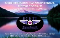 2018 ECETI Experience Multi-Dimensional Star Nation Contact - Costa Mesa, CA image