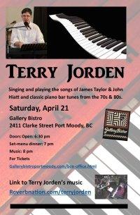 Terry Jorden Dinner Concert image
