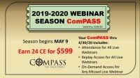 2019-2020 Webinar Season ComPASS image