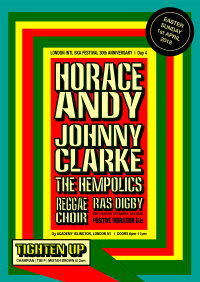 Horace Andy, Johnny Clarke, The Hempolics, Ras Digby, Tighten Up crew +more! image