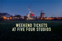 DAY & WEEKEND TICKETS FOR FIVE FOUR STUDIOS image
