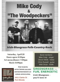Mike Cody and the Woodpeckers image