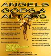 Angels Gods and Altars 2019 image