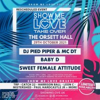 SHOW ME LOVE - ORSETT HALL - 29th OCTOBER 2021 image