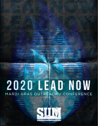 LEAD NOW - 2020 Mardi Gras Outreach/Conference image