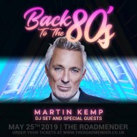 Martin Kemp - Back to the 80's DJ set image