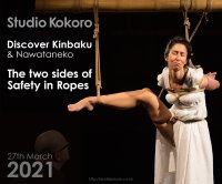 Kokoro Live: The Two Sides of Safety in Ropes with Discover Kinbaku image