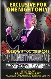 A Special Evening With The Sensational Joe Longthorne image