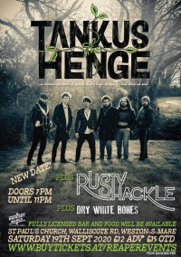Tankus the Henge, Rusty Shackle & Dry White Bones - St Paul's Church, Weston-super-Mare image
