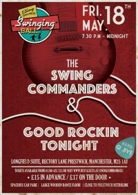SWING COMMANDERS with GOOD ROCKIN' TONIGHT! image