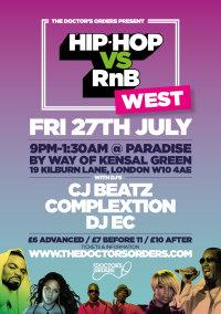 Hip-Hop vs RnB - Westside image