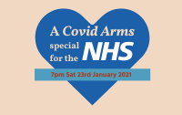 A Covid Arms special for the NHS – LIVESTREAM TICKET image