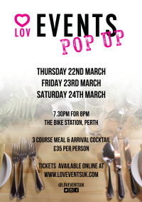 Lov Events Pop Up Restaurant image