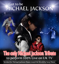 Got to be Michael Jackson Tribute - Lickey image