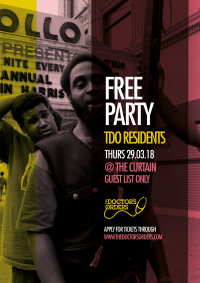 TDO x The Curtain - Guestlist Only Free Bank Holiday Special image