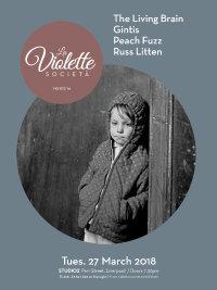 La Violette Società 16 - Irvine Welsh, The Living Brain, Gintis, Peach Fuzz, Russ Litten image