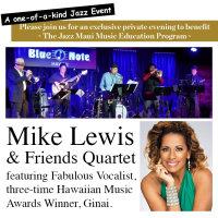 Mike Lewis & Friends Quartet image