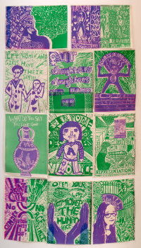 Inkerwoven: Developing ideas through printmaking - Print and Collage - £10.00 image