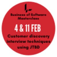 Customer Discovery Interview Techniques with JTBD - A BoS Online Masterclass with Bob Moesta & Greg Engle image
