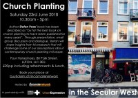 'Church Planting in the Secular West' with Stefan Paas image