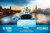 Boat Party + Club Fire After - Dj Budai & Peter Makto - London 2019.06.15 image