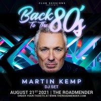 Martin Kemp 'Back to the 80s' DJ Set image