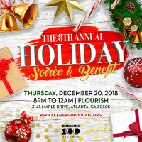Emerging 100 of Atlanta Presents the Eighth Annual Holiday Soiree and Benefit image