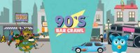 90s Bar Crawl- Charleston image