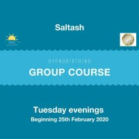 Saltash HypnoBirthing Course - Tuesday Evenings (Feb 25th - March 31st 2020) image