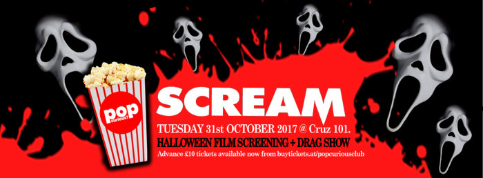 halloween scream film screening at at cruz 101 tues 31st oct image - Why Is Halloween On The 31st Of October