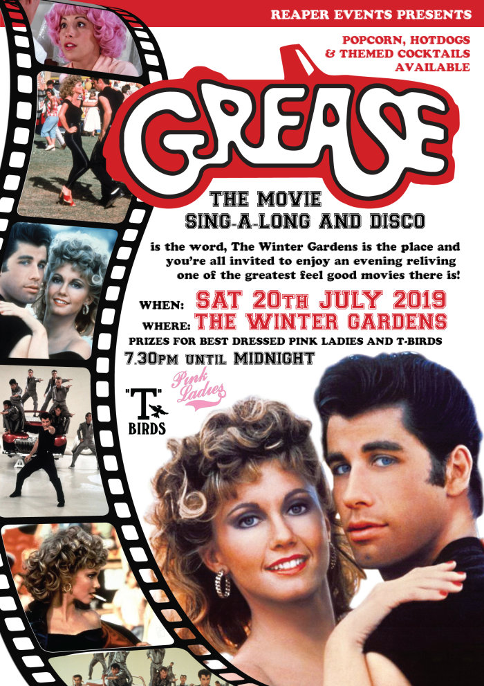 Buy Tickets For Grease The Movie Sing Along And Disco Live From The