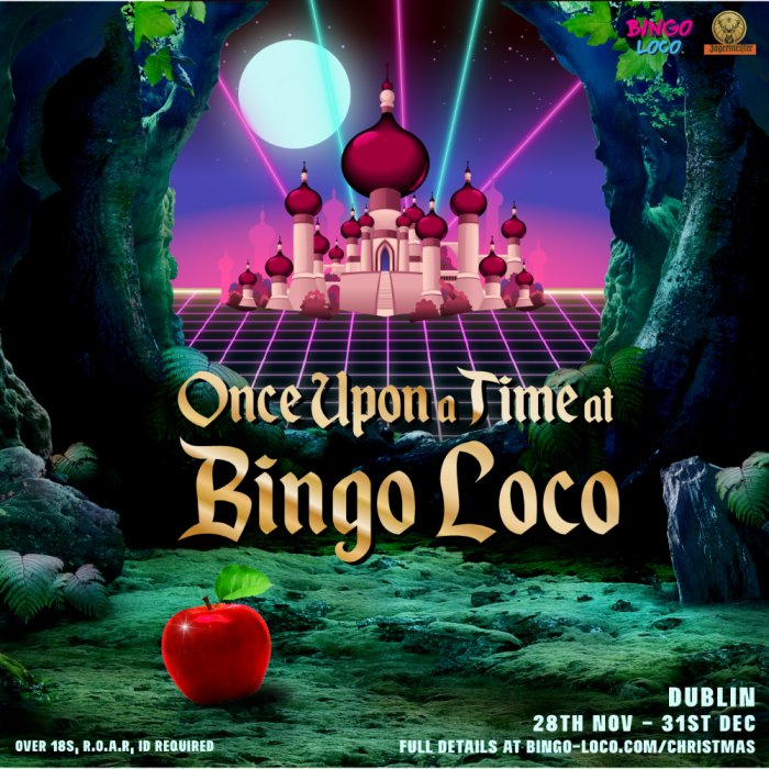 Once Upon A Time At Christmas 2019.Once Upon A Time At Bingo Loco Mon 30th December Bingo Loco