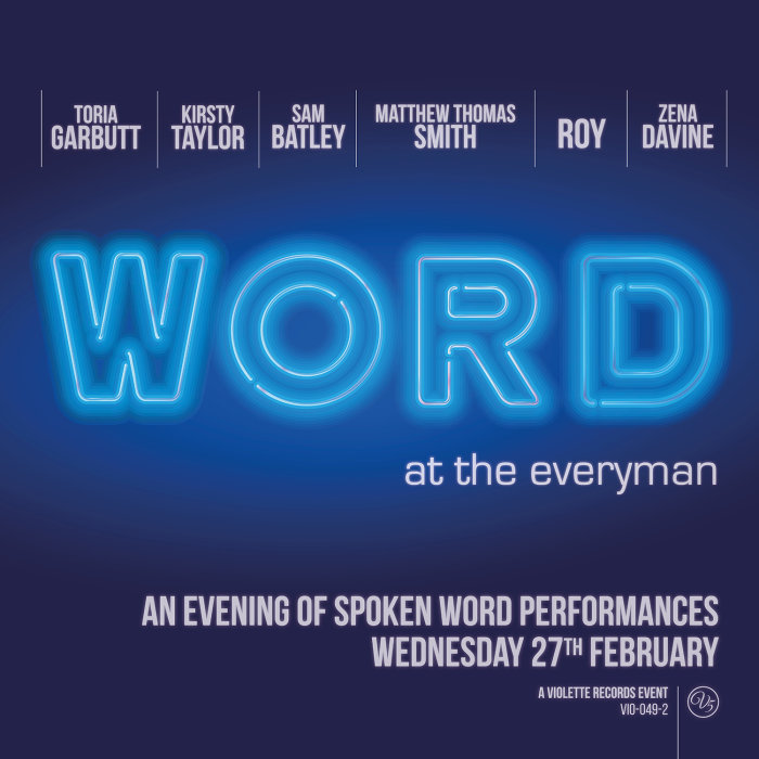 Buy Tickets for WORD - An Evening of Spoken Word Performances at The