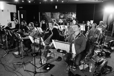 Dublin City Jazz Orchestra in rehearsal