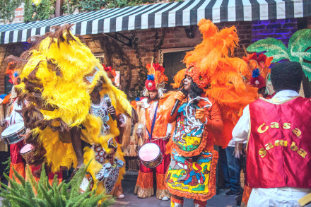 Afro cultures of Carnival in New Orleans