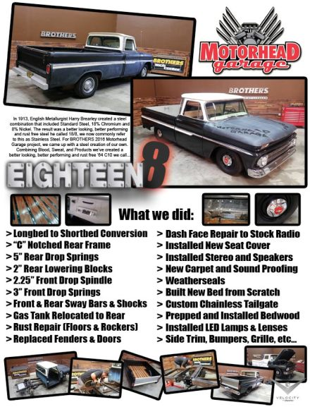 Buy tickets for *RAFFLE* 1964 Chevy Truck - #Eighteen8 at