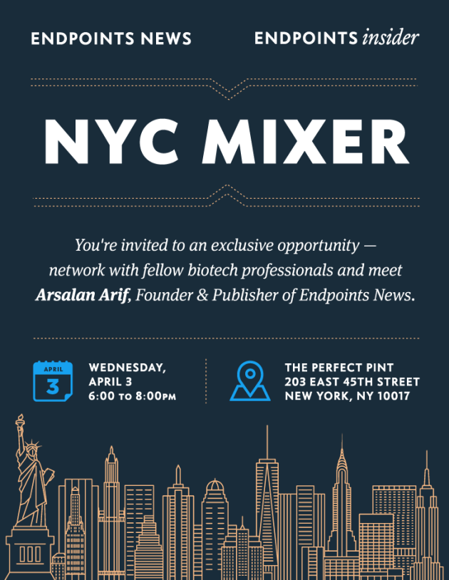 Join the guestlist for Endpoints Mixer — NYC at The Perfect