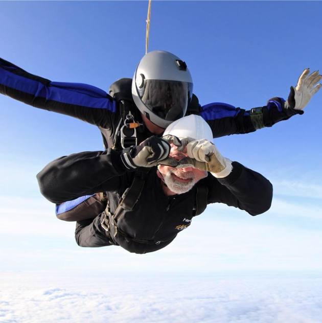 David's Skydive!