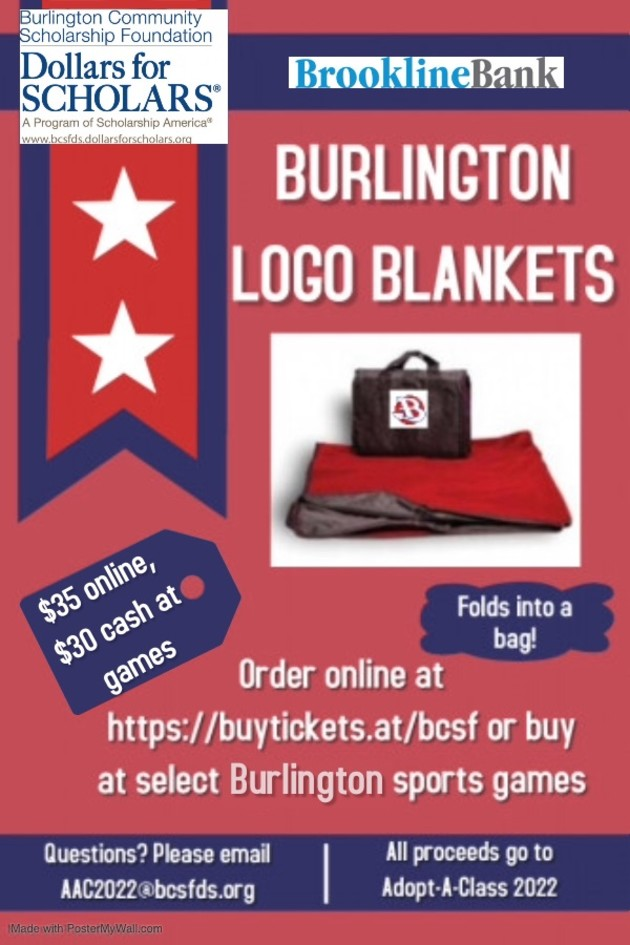 Buy Your Burlington Blankets!