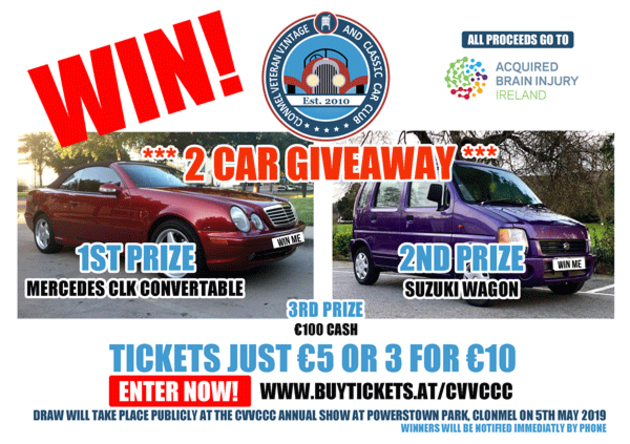 Buy tickets for CAR RAFFLE at Powerstown Park Racecourse