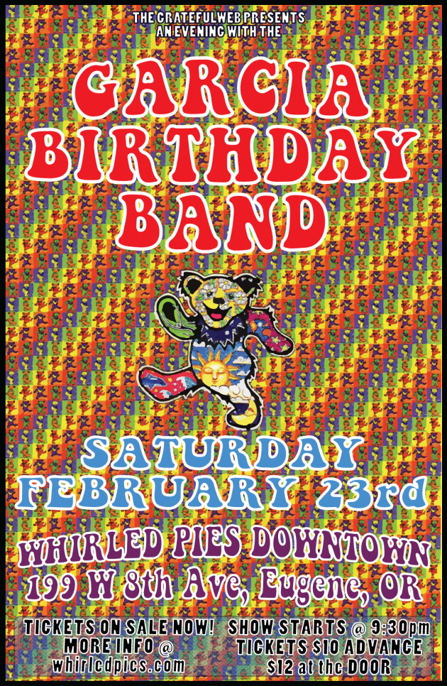 Garcia Birthday Band at Whirled Pies!