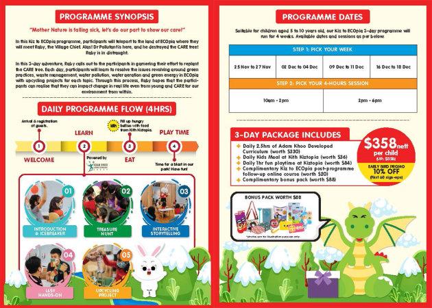 Kiz to ECOpia Programme Synopsis