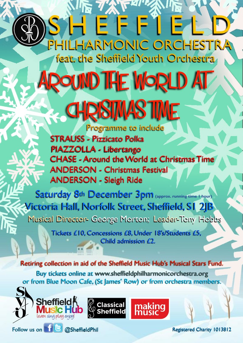Buy tickets for Around the World at Christmas Time at